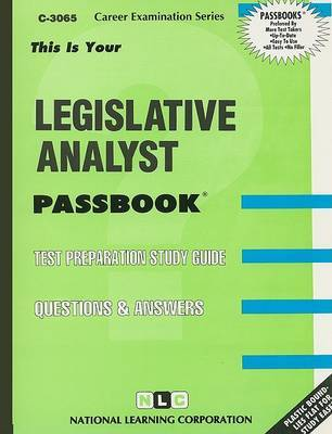 Legislative Analyst image