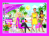Barbie Classic 35 Piece Frame Tray Jigsaw Puzzle - Summer Barbie