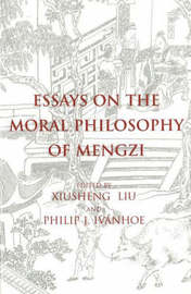 Essays on the Moral Philosophy of Mengzi image