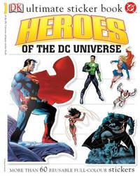 Heroes of the DC Universe Ultimate Sticker Book image
