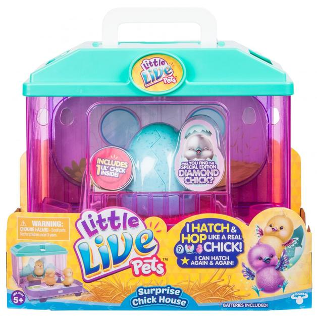 Little Live Pets: Baby Chick House - Pink