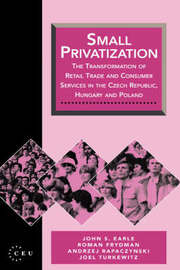 Small Privatization by John S Earle