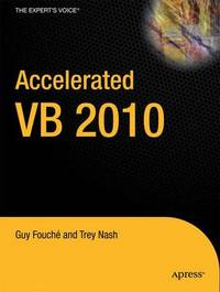 Accelerated VB 2010 by Trey Nash image