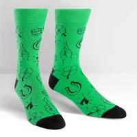 SOCK it to Me: Mens - Lucky Socks Crew Socks