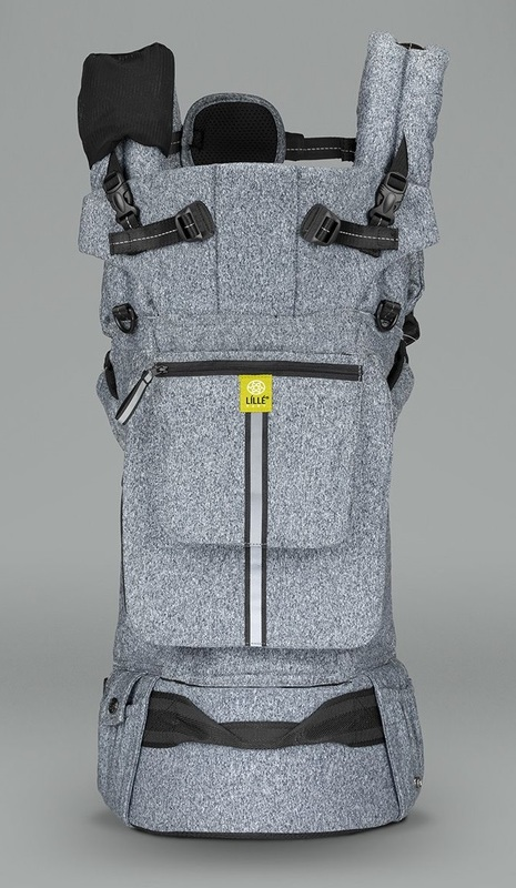 Lillebaby: Pursuit Pro Carrier - Heathered Grey