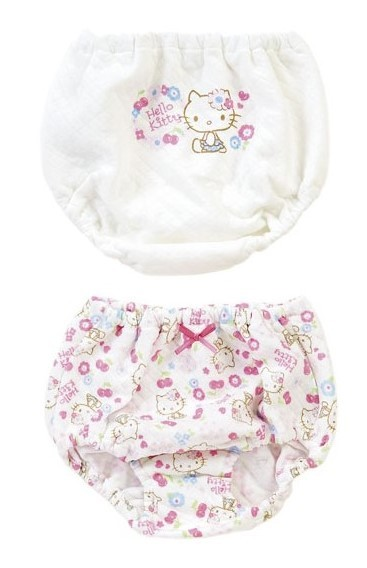 Hello Kitty: Quilt Shorts: 90(2 Set)