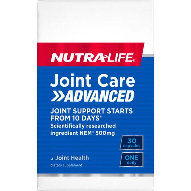 Nutra Life: Joint Care Advanced One-A-Day Caps (30s)