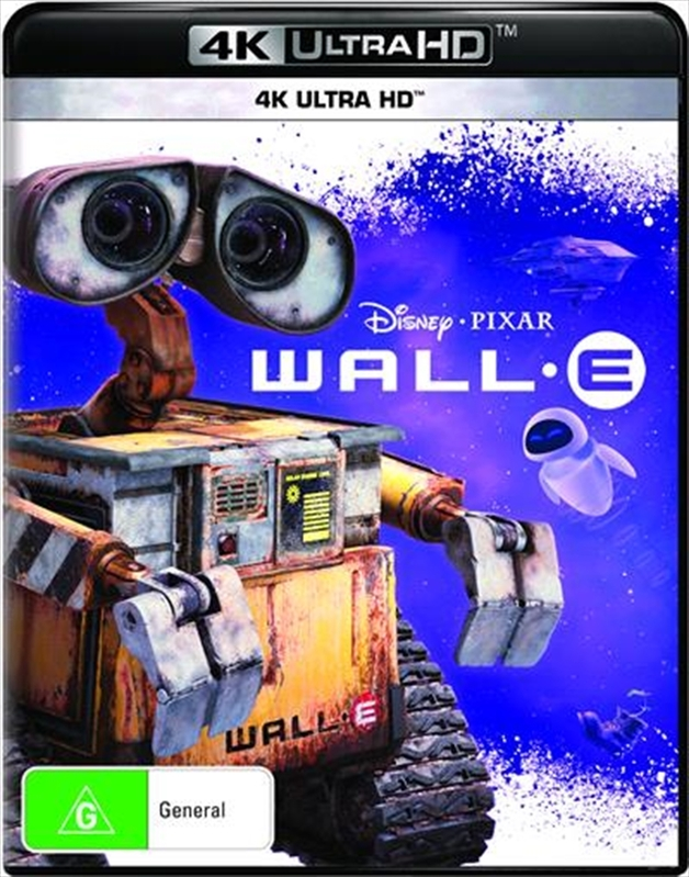 WALL-E on UHD Blu-ray