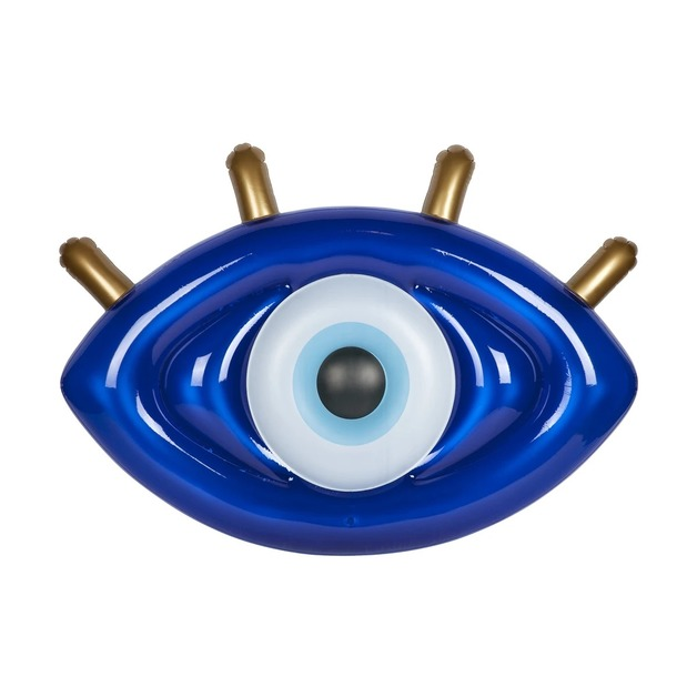 Sunnylife: Luxe Lie-On Float - Greek Eye