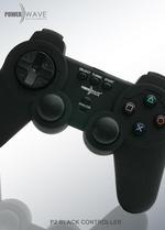 Powerwave PlayStation 2 Controller (Black) for PlayStation 2
