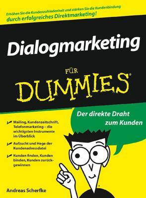 Dialogmarketing Fur Dummies by Andreas Scherfke image