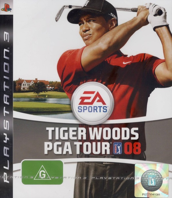 Tiger Woods PGA Tour 08 for PS3