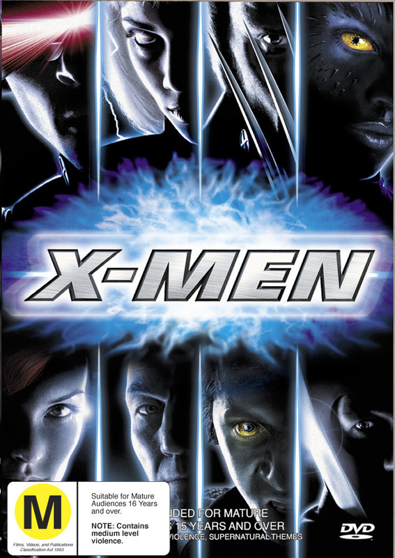 X-Men (Single Disc) on DVD