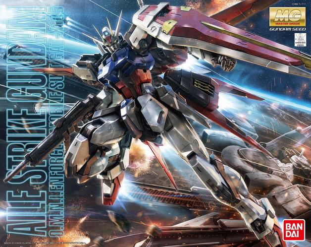 MG 1/100 Aile Strike Gundam Ver. RM - Model Kit