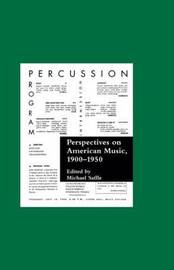 Perspectives on American Music, 1900-1950 image