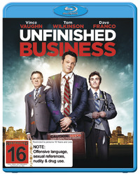 Unfinished Business on Blu-ray