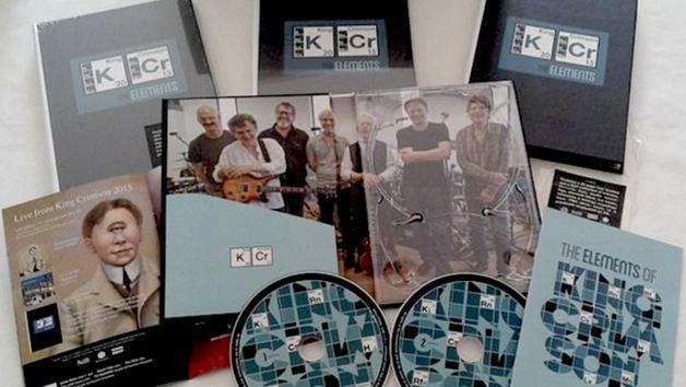 Tour Elements Box 2015 (2CD/Book) by King Crimson