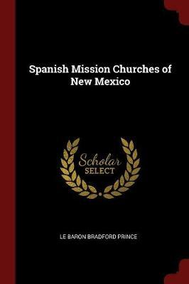 Spanish Mission Churches of New Mexico by L Bradford 1840-1922 Prince