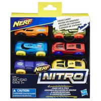 Nerf Nitro: Foam Car 6-Pack (Set 3)