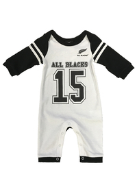 All Blacks No.15 All in One - No Feet (Size 0)