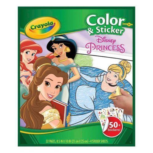 Crayola: Colour & Sticker Activity Book - Disney Princess image