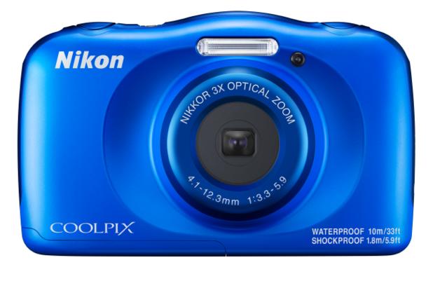 Nikon Coolpix W150 Compact Digital Camera - Blue