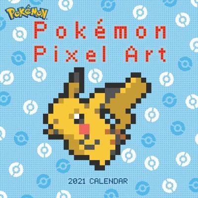 Pokemon Pixel Art 2021 Wall Calendar by Pokemon