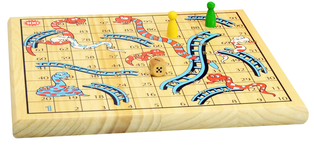Snakes and Ladders - Board Game