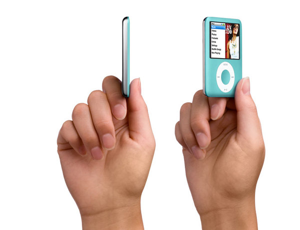 Apple - iPod nano 8GB - 3rd Gen - Green image