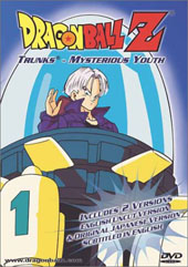Dragon Ball Z 3.01 - Trunks - Mysterious Youth on DVD