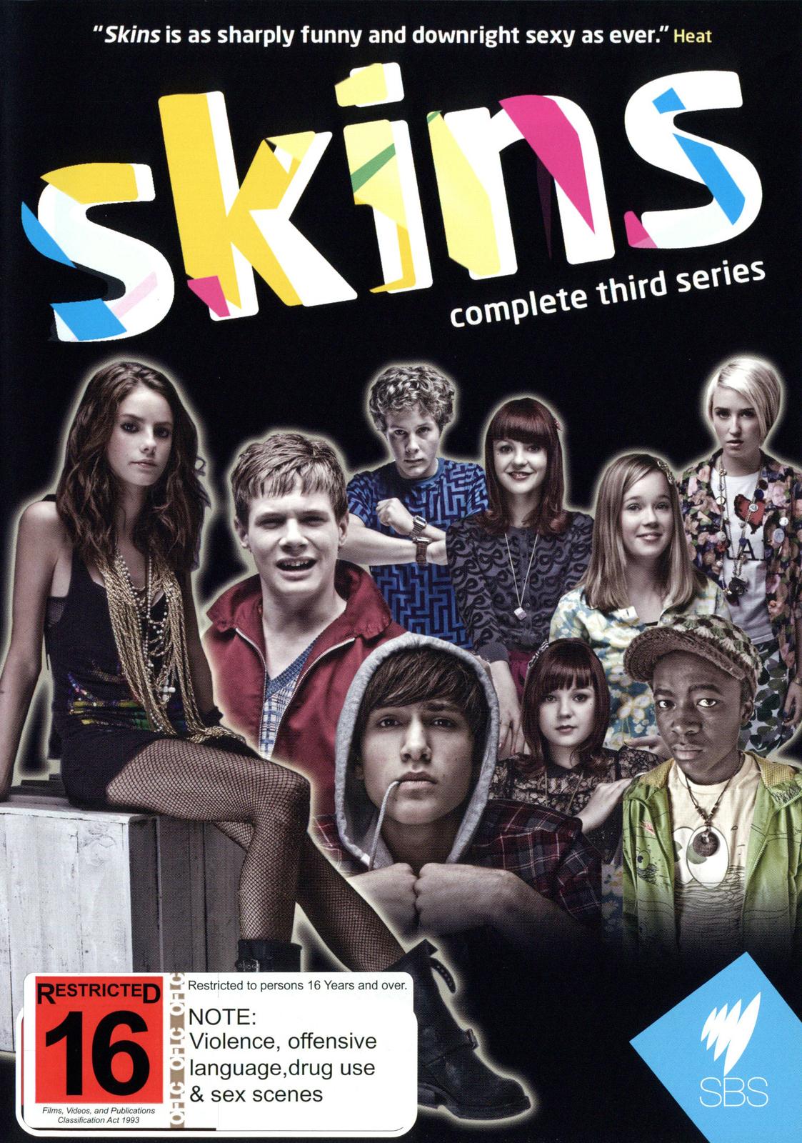 Skins - Complete 3rd Series (3 Disc Set) on DVD image