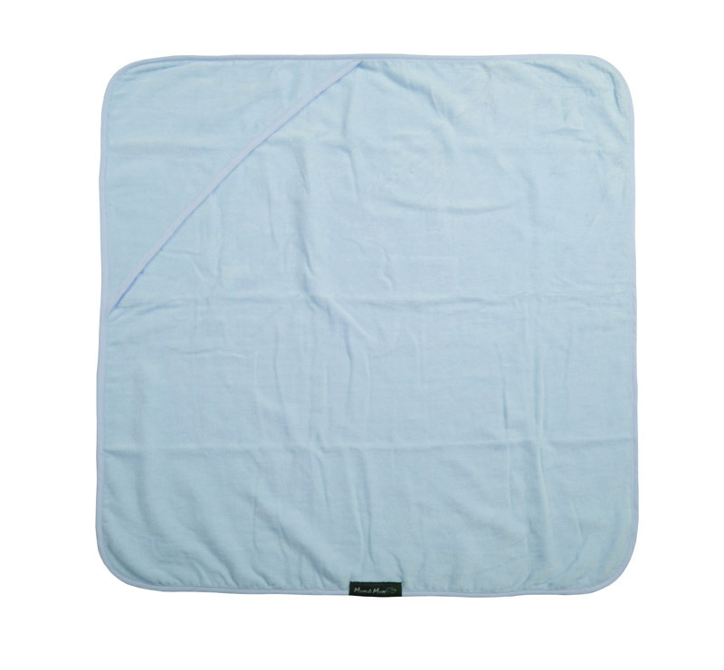 Mum 2 Mum Hooded Towel - Baby Blue image
