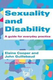 Sexuality and Disability by Elaine Cooper