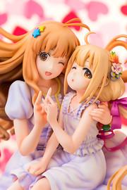 The Idolmaster: 1/8 Kirari Moroboshi & Anzu Futaba - PVC Figure