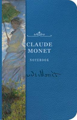 Monet Notebook Embossed - A6 by Cider Mill Press