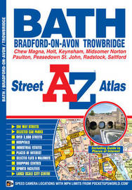 Bath Street Atlas by Geographers A-Z Map Company