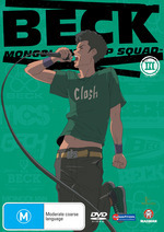 Beck - Mongolian Chop Squad: Vol. 3 on DVD