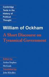 William of Ockham: A Short Discourse on Tyrannical Government by William of Ockham image