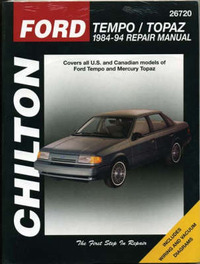Ford Tempo/Topaz 1984-1994 by The Nichols/Chilton image