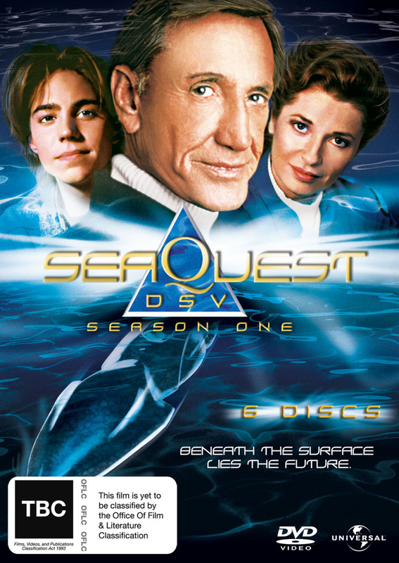 SeaQuest DSV - Season 1 (6 Disc Set) on DVD