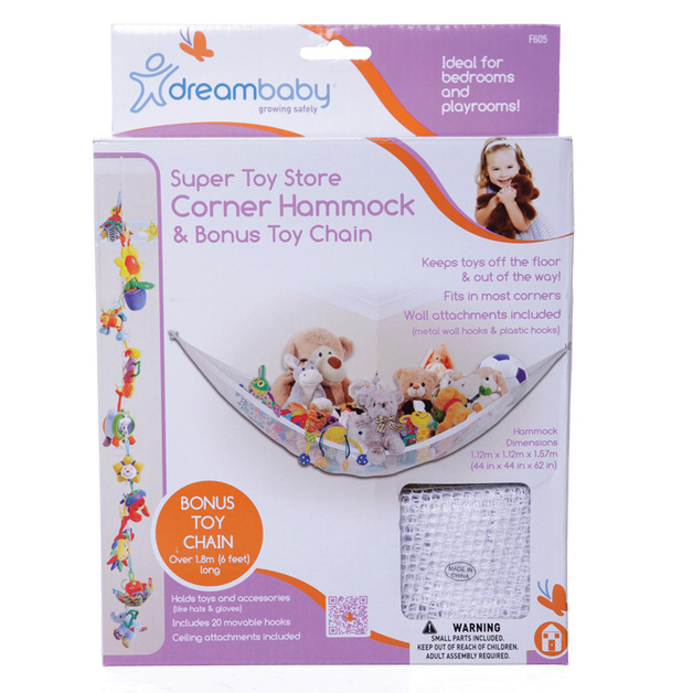 Buy Dreambaby Super Toy Store Corner Hammock at Mighty Ape NZ