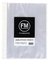 FM Copysafe Pocket - A5 40 Micron Hangsell (Pack 10)