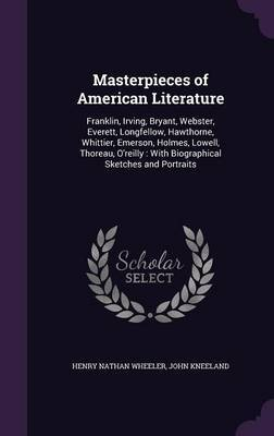 Masterpieces of American Literature by Henry Nathan Wheeler image