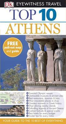 DK Eyewitness Top 10 Travel Guide: Athens by Coral Davenport