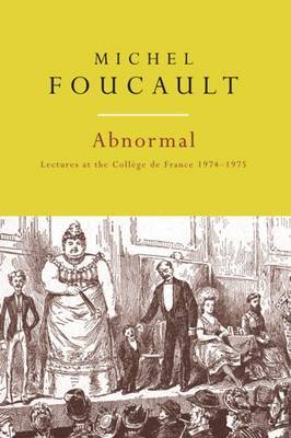 Abnormal by Michel Foucault