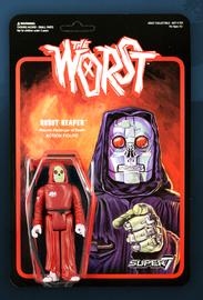 The Worst: Graveyard Shift - Robot Reaper Retro Action Figure