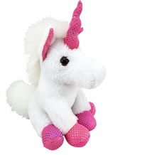 Antics: Mini White Unicorn - Small Plush