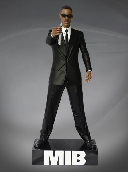 Men in Black: Agent J - 1:4 Scale Statue