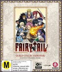 Fairy Tail Guild: Collection 5 (Episodes 176-226) on Blu-ray