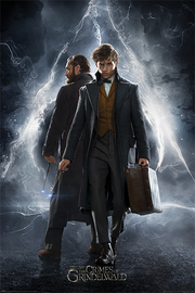 Fantastic Beasts The Crimes Of Grindelwald Maxi Poster - Newt & Dumbledore (910)
